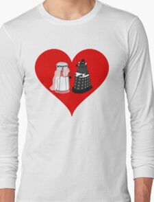 Dalek Wedding Long Sleeve T-Shirt