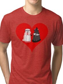 Dalek Wedding Tri-blend T-Shirt