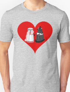 Dalek Wedding Unisex T-Shirt