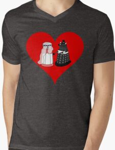 Dalek Wedding Mens V-Neck T-Shirt