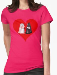 Dalek Wedding Womens Fitted T-Shirt