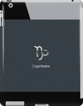 Apple Smart Phone Style with Astrology Capricorn Sign | by scottorz