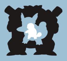 Squirtle-Wartortle-Blastoise Kids Clothes