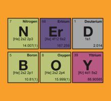 NERD BOY - Periodic Elements Scramble! by dennis william gaylor