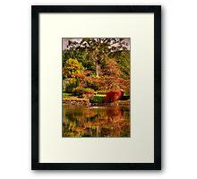 Secret Garden - Mount Wilson  # 7 , NSW Australia - The HDR Experience Framed Print