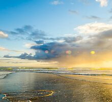 Sunrise at Sandy Bay by Andrew Lever