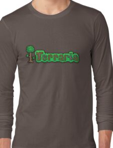 Terraria Logo Long Sleeve T-Shirt