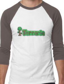 Terraria Logo Men's Baseball ¾ T-Shirt