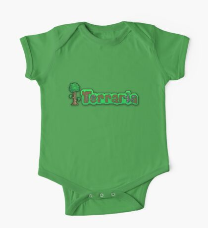 Terraria Logo One Piece - Short Sleeve