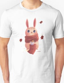 Bunny on red scarf T-Shirt