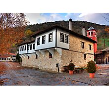 Panagia Mauriotissa. Monastery at Kastoria, Makedonia, Greece Photographic Print
