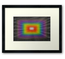 Beneath Black Sands Framed Print