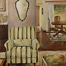Interior with Chair by JolanteHesse