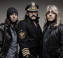 Motorhead, Rock, Lemmy Kilmister, Phil Campbell, Mikkey Dee by fine-art-prints