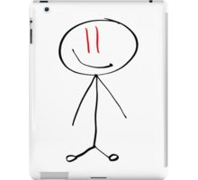 Red Eye Stickman iPad Case/Skin
