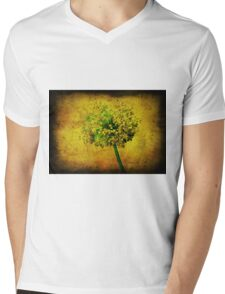 Flower. Mens V-Neck T-Shirt