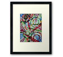 The Repose of the Circle Fish Framed Print