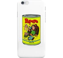 POPEYE MUSCLE MAN TEE iPhone Case/Skin