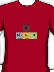 iron man - Periodic Elements Scramble! T-Shirt