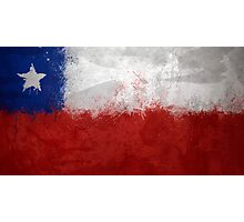 Chile - Magnaen Flag Collection 2013 Photographic Print