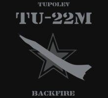 Tupolev TU-22M Backfire by Samuel Sheats