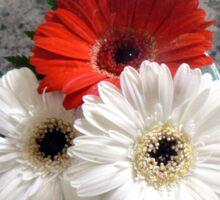 Bouquet. Sticker