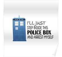 POLICE BOX - tardis Poster