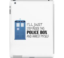 POLICE BOX - tardis iPad Case/Skin