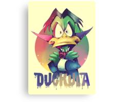 Count Duckula Canvas Print