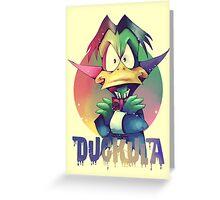Count Duckula Greeting Card