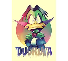 Count Duckula Photographic Print