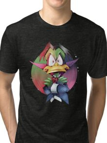 Count Duckula Tri-blend T-Shirt