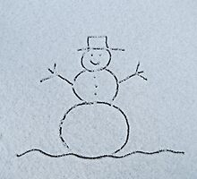 Snowman by Nicole Gushue