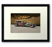 Rat Rod Sedan ll Framed Print