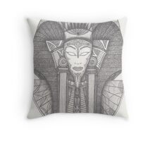 Stargate Ra Mask Throw Pillow