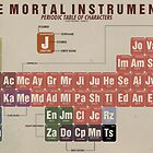 The Mortal Instruments Periodic Table of Character by thespngames