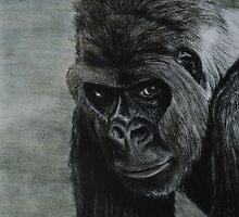 Gorilla Ipad Case by gogston
