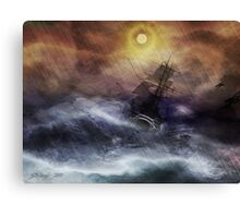 "The Ride of ""La Navidad"" Canvas Print"