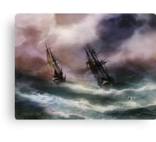 Open Sea - Dangerous Drift Canvas Print