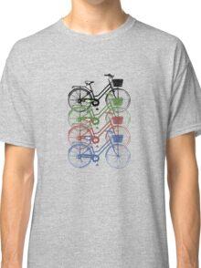 Retro Ladies Bikes Classic T-Shirt