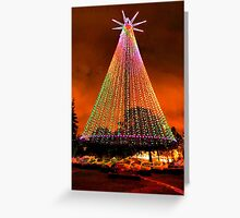 Telecom Tree, Auckland, New Zealand. Greeting Card