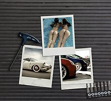 SEPTEMBER - Garage Dreams  - cars & girls by Benjamin Whealing