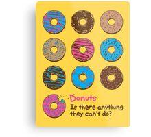 Mmmm donuts! Metal Print