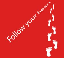Follow your heart Kids Clothes