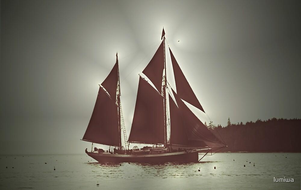 Sailing boat by lumiwa