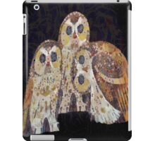 Three Owls - Art Nouveau Inspired by Klimt iPad Case/Skin
