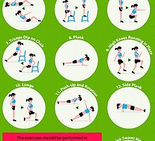 7 Minute Work Out - Infographic  by smithdiana594