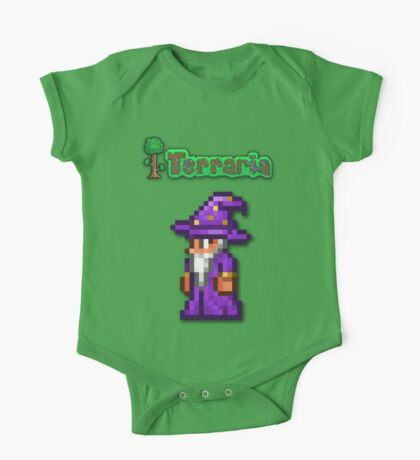Terraria Wizard One Piece - Short Sleeve
