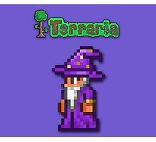 Terraria Wizard Photographic Print