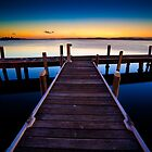 Squid's Ink Jetty by Andy Gock